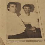 Il giovane Dario Cocito (sulla destra)