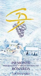 Piemonte Bonarda DOC - Cocito Dario (etichetta)