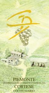 Piemonte Cortese DOC - Cocito Dario (label)