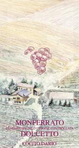 Monferrato Dolcetto DOC - Cocito Dario (etichetta)