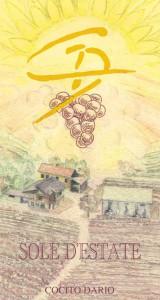 Vino Rosso Sole d'Estate - Cocito Dario (etichetta)